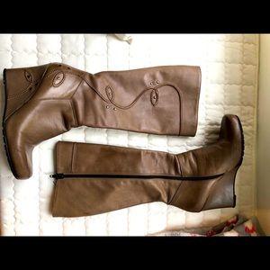 Leather Italian boots